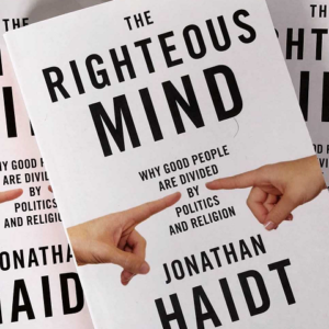 Jonathan Haidt: The Righteous Mind (Signed)